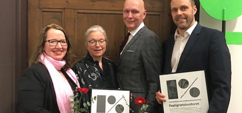 Ira Lagercrantz, Ellen Ruge, Lennart Ploom och Jonas Uebel