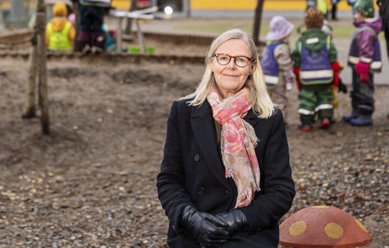 Linnéa Engström är koordinator inom Enskede-Årsta-Vantörs stadsdelsförvaltning och fungerar som en länk mellan förskolan och stadsdelen.